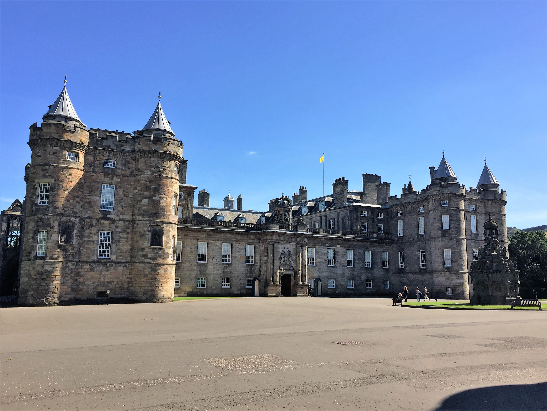 The queen's residence in Edinburgh.