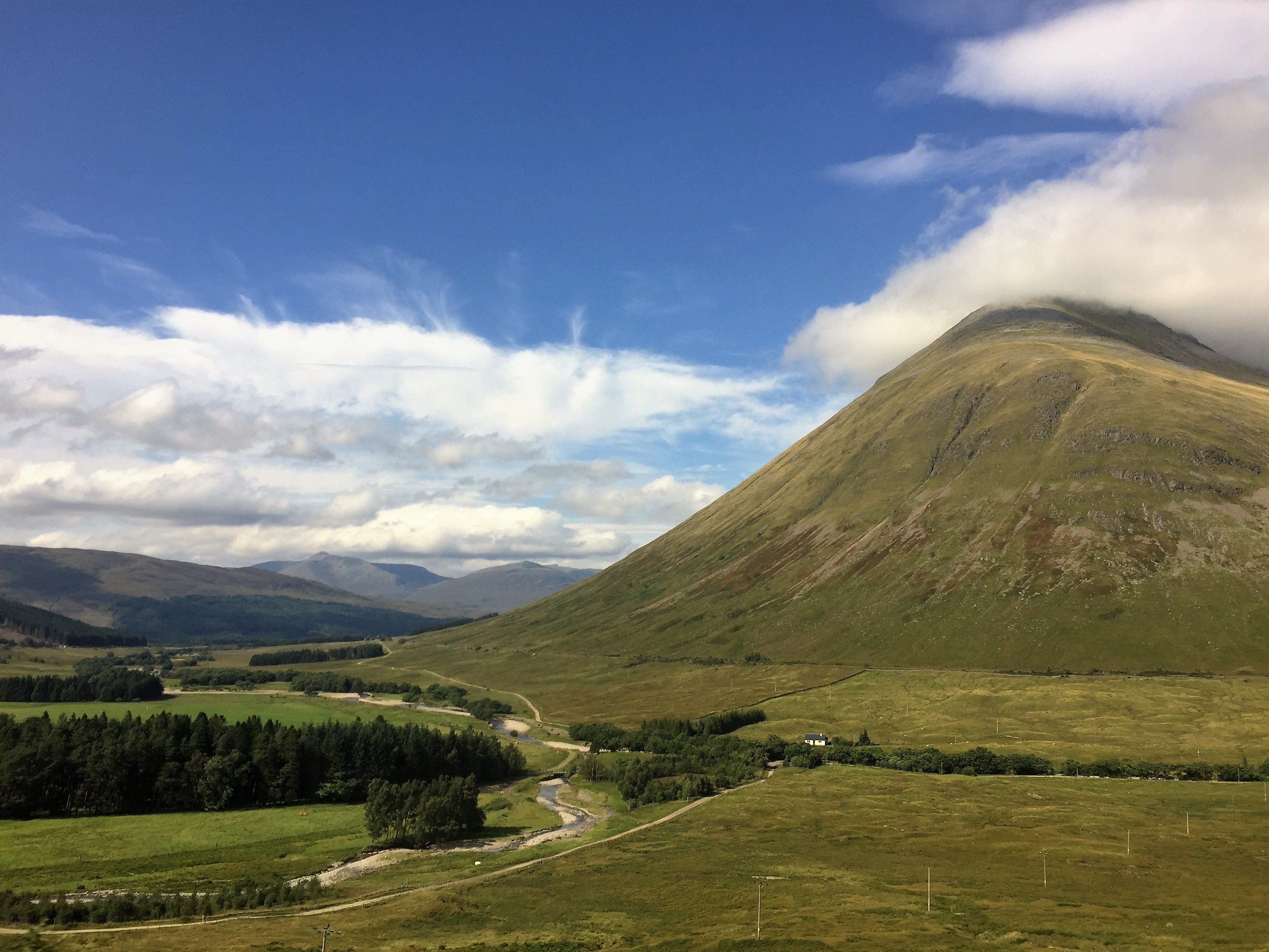 On the West Highland Line to Mallaig.